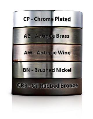 3 Inch Shank Hydronix LF-EC32-CP Elegant Ceramic Chrome Faucet